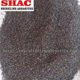 Brown Oxyde d'aluminium en poudre et les grains #4-#3000