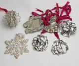 Ornamenti di natale dell'argento del fiocco di neve di Lenox della fabbrica dell'OEM
