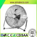 18дюйма высокой скорости хром металлический Напольный вентилятор с SAA/CE/GS