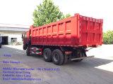 Sinotruk 336HP 371HP 6X4 HOWOの重い貨物自動車のダンプトラック