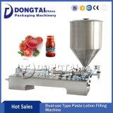 Molho de Tomate Semi-automático da máquina de enchimento