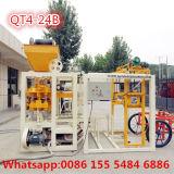 Полуавтоматное цена машины блока вибрации Qt4-24b