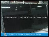 中国の絶対黒い花こう岩は浴室のためのフロアーリングをタイルを張る
