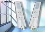 luz de rua solar do diodo emissor de luz da iluminação 50W ao ar livre com painel solar