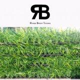 hierba artificial de la decoración del color del paisaje cuatro de 35m m/césped artificial/hierba sintetizada