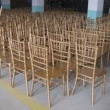 O Hotel Modern banquete de núpcias madeira branca Chiavari Tiffany Presidente