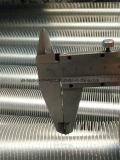 Tubo intercambiador de calor de acero inoxidable de la bobina