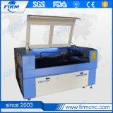 máquina de corte e gravação a laser CNC couro de acrílico de madeira