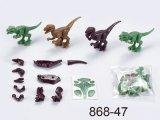 Motos de Nieve de bricolaje más reciente de promoción de los pequeños juguetes golosinas mejores juguetes para niños