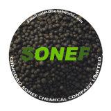 El ácido húmico abono orgánico fertilizante orgánico de partículas negras fabricante de China