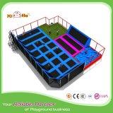 Buoni commerciali della sosta del trampolino di zona del cielo di ginnastica con molti giochi
