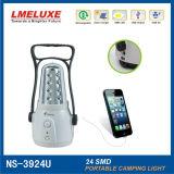 12 LED SMD Luz Camping Recarregável
