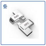 인조 인간 금속 펜 드라이브 기억 장치를 위한 고품질 USB 섬광 드라이브