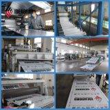 Workshop de fábrica metálico prateado Decoração de parede Painel Composto de alumínio