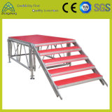 Estágio de alumínio do equipamento Load-Bearing do estágio 800 único