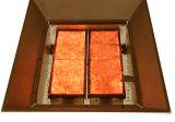 Placa cerâmica do queimador da fornalha do favo de mel infravermelho catalítico Flameless do gás