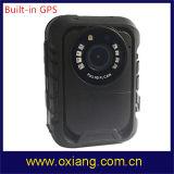 Камера полиций Ambarella A7 полным HD несенная телом с ночным видением и GPS