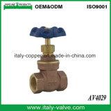 Vanne de Bronze Bsp certifié (AV4001)