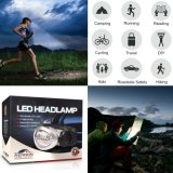 MiniHeadlamp Flashlight mit Red LED Light Super Bright Lightweight u. Comfortable Easy to Use Headlight