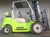 Gasolina Montacargas 3mt LPG Forklifter para la venta