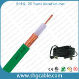 Câble Kx8 Rg11A/U coaxial de liaison normal de mil