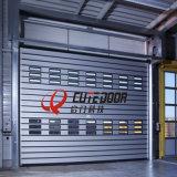 Porta do Roll-up da espuma material dura luxuosa do plutônio do alumínio auto