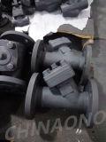 A105 forjó la válvula de retención con brida