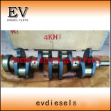 As peças do motor da escavadeira 4KH1tc 4JH1tc 4JK1 4JK1T 4KH1 4JH1 Conjunto do Rolamento Principal do Virabrequim