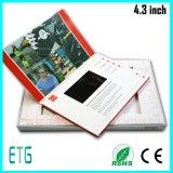 Брошюры экрана цвета LCD 10 дюймов видео- с экраном касания