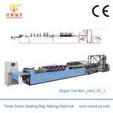 Máquina de fabricação de sacos de lixo rolados contínuos