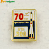 고품질 고객 디자인 금속 접어젖힌 옷깃 Pin