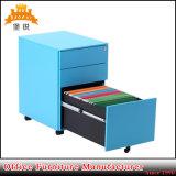 Gabinetes de enchimento móveis do metal móvel de aço do suporte da mobília de escritório