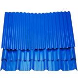 La couleur enduites de zinc métal ondulé tôle de toit