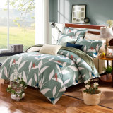 Textil hogar ropa de cama de lujo de algodón cubierta edredón