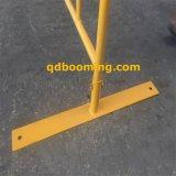 Barricada amarela da estrada da alta qualidade