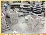 De Vaas van de Steen van de Pot van de Bloem van de Tuin van het graniet