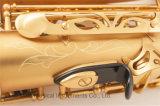Saxophone Alto professionnel, tampons Pisoni plaqué or