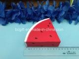 Wassermelone-Scheibe-Stück PU-Squishy Spielzeug-weich langsames Steigen gerochen