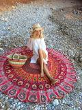 浜の投球タオルの布のマットのビキニの隠蔽の円形のヒッピーのタペストリー