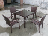 Rattan Coffee Set Aluminum Table e Chair Furniture