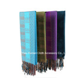 Lady Fashion Jacquard Scarf Wrap Shawl