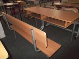 Escritorio doble de madera combinado y silla (SF-09D) de la escuela