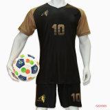 100 % polyester personnalisé de Sublimation de Colorant de chemises de soccer de l'équipe de Soccer Jersey