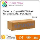 cartucho de toner negro de 2.5k A410t2HK-W para Sindoh A411dn A413dn