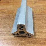 Quadrada, Circular diferentes perfis de extrusão em ligas de alumínio para tubo de Porta e Janela 188