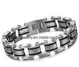 Armband de Van uitstekende kwaliteit van het Titanium van de Juwelen van Shineme (SMBR3166)