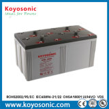 2V 1200 ah a energia solar a estação de energia da bateria de armazenamento da bateria do MGA