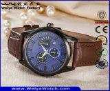 Orologio casuale delle signore della cinghia di cuoio di modo del ODM (WY-P17009A)