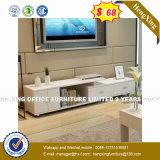 Gabinete de Extensão Larg Glass Tampo da Mesa do Escritório de madeira (HX-4103)