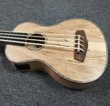 Nuevo Spalted Maple Bass Fretless Ukulele
